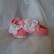 Работы для детей, ручной работы. Ярмарка Мастеров - ручная работа Пинетки сандалики. Handmade.