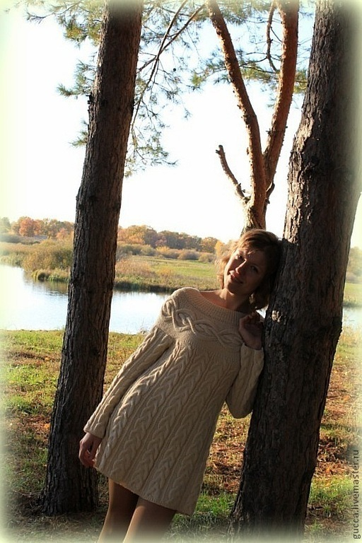 """Платья ручной работы. Ярмарка Мастеров - ручная работа. Купить Платье теплое  """"Шамони"""". Handmade. Платье, женское платье"""