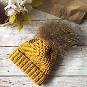 Шапка ручной работы. Ярмарка Мастеров - ручная работа Детская шапка. Handmade.