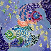 """Картины и панно ручной работы. Ярмарка Мастеров - ручная работа Картина """"Танец"""". Handmade."""