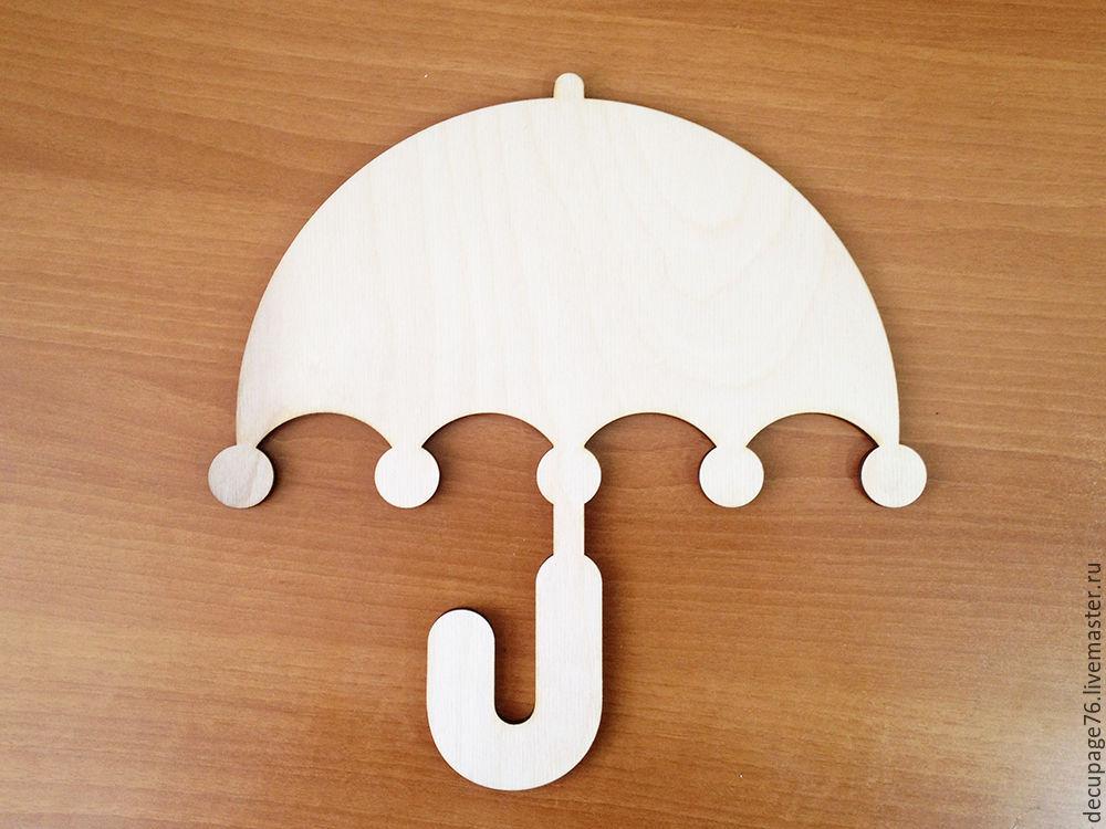 Панно `Зонтик`  Не комплектуется фурнитурой Размер 15х15 см