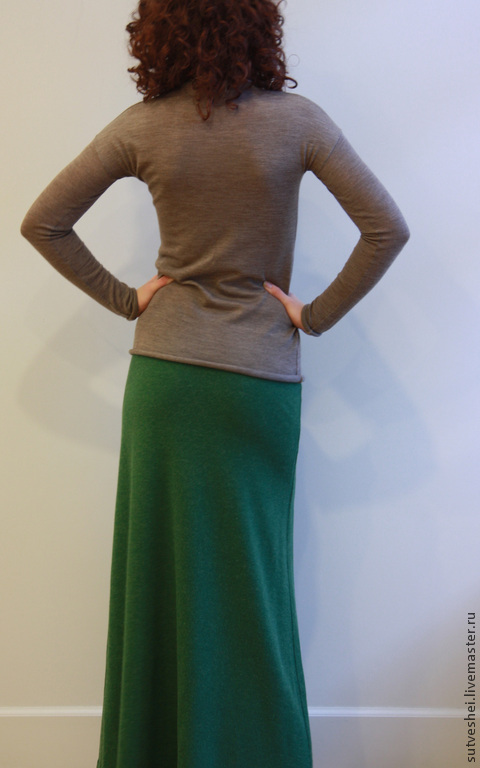 Юбки ручной работы. Ярмарка Мастеров - ручная работа. Купить Юбка Цвет молодой зелени. Handmade. Болотный, юбка вязаная