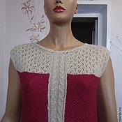 Одежда ручной работы. Ярмарка Мастеров - ручная работа Платье вязаное в пол. Handmade.