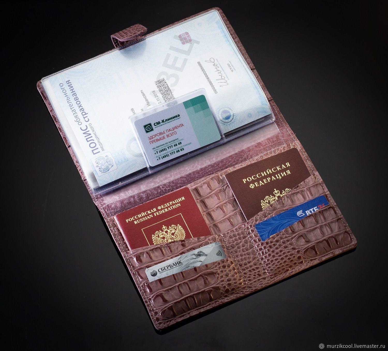 Mini organizer for documents A5 iris Cayman, Folder, Moscow,  Фото №1