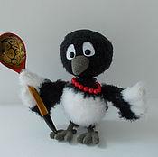 Куклы и игрушки ручной работы. Ярмарка Мастеров - ручная работа Сорока-Белобока. Handmade.