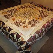 """лоскутное одеяло с подушками """"провинция"""""""
