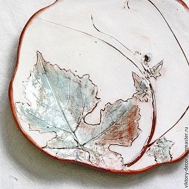 Посуда ручной работы. Ярмарка Мастеров - ручная работа Керамические пиалы тарелки. Handmade.