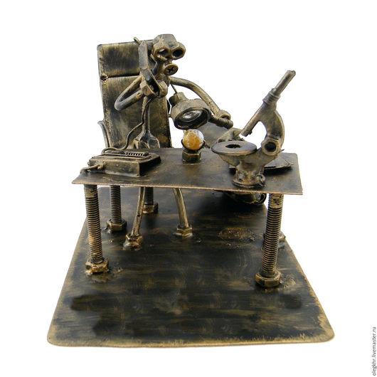 Миниатюрные модели ручной работы. Ярмарка Мастеров - ручная работа. Купить Геммолог. Handmade. Скульптурная миниатюра, куклы и игрушки, металл