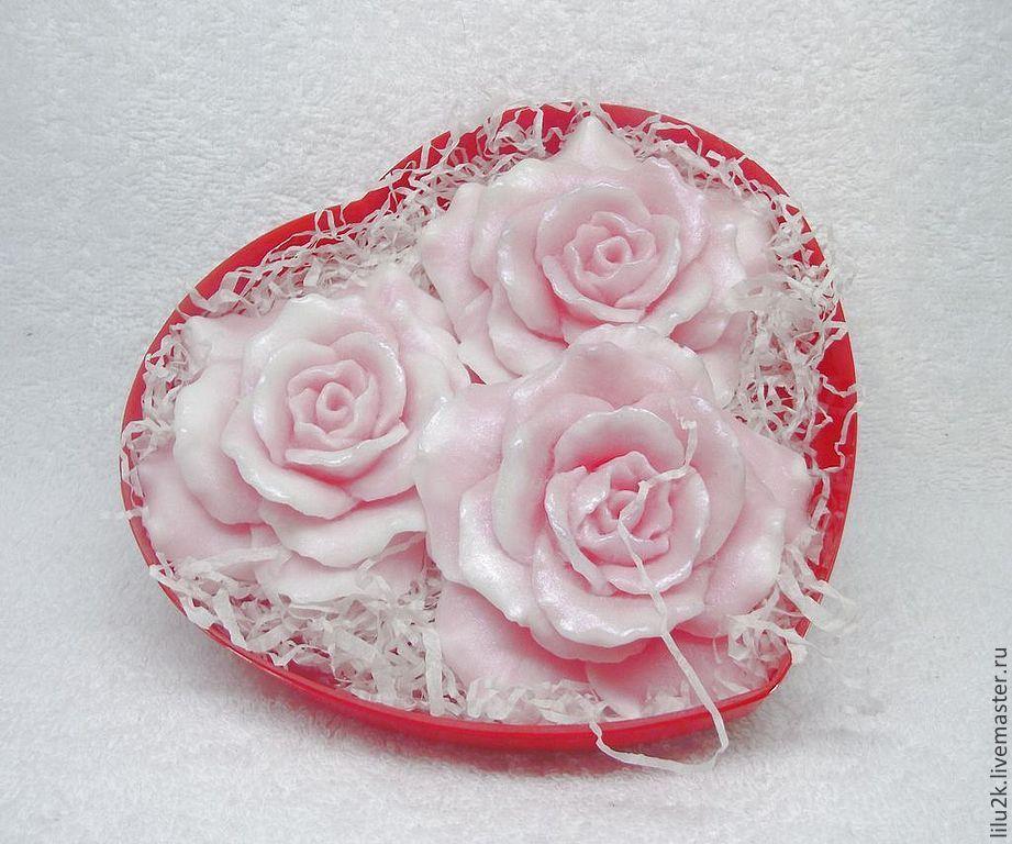 Набор мыла розы