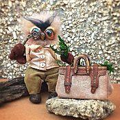 Куклы и игрушки ручной работы. Ярмарка Мастеров - ручная работа Филин Паганель. Handmade.