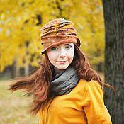 """Шляпы ручной работы. Ярмарка Мастеров - ручная работа Шляпка """"Погода осенью"""". Handmade."""
