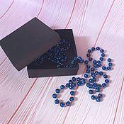 Упаковка ручной работы. Ярмарка Мастеров - ручная работа Коробочка для украшений 8,5 х 8,5 х 3 см. Handmade.