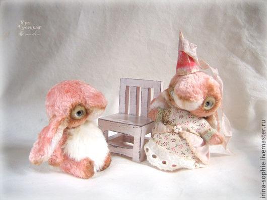 Мишки Тедди ручной работы. Ярмарка Мастеров - ручная работа. Купить Кролики - это не только ценный мех, но и прекрасные принцессы. Тедди.. Handmade.