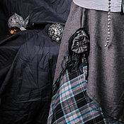 """Одежда ручной работы. Ярмарка Мастеров - ручная работа Само совершенство. Трехслойная бохо-юбка """"Царица Ночи"""". Handmade."""