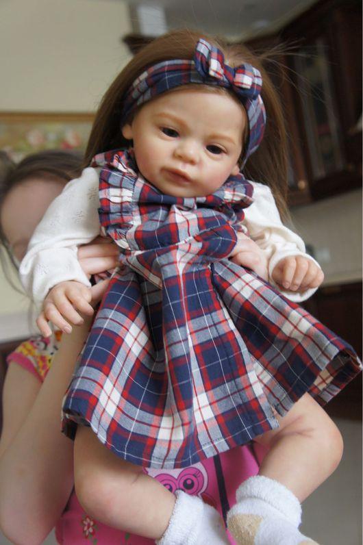 Куклы-младенцы и reborn ручной работы. Ярмарка Мастеров - ручная работа. Купить Куколка Василиса. Handmade. Кукла ручной работы