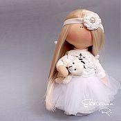 """Куклы и игрушки ручной работы. Ярмарка Мастеров - ручная работа Интерьерная текстильная кукла """"Белый ангел"""". Handmade."""