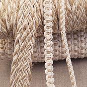 Плетение цветов из тесьмы