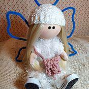 Тыквоголовка ручной работы. Ярмарка Мастеров - ручная работа Тыквоголовка: Кукла Бабочка. Handmade.