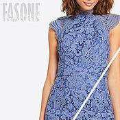 Одежда handmade. Livemaster - original item dresses: Blue lace dress