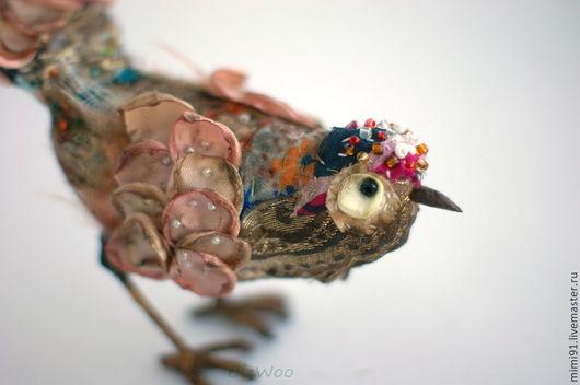"""Персональные подарки ручной работы. Ярмарка Мастеров - ручная работа. Купить Птица счастья """"Винтаж"""". Handmade. Разноцветный, лоскутное шитье"""