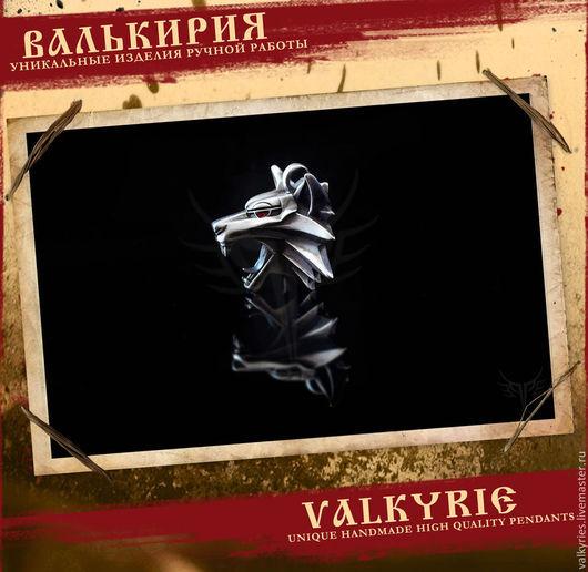 Кулоны и подвески ручной работы  из серебра 925 пробы.Кулон ведьмак. Мастерская Валькирия.