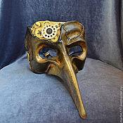 """Одежда ручной работы. Ярмарка Мастеров - ручная работа Карнавальная маска """"Механический лекарь"""". Handmade."""