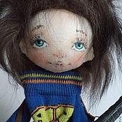 Куклы и игрушки ручной работы. Ярмарка Мастеров - ручная работа Гриша музыкант! Парень с гитарой. Handmade.
