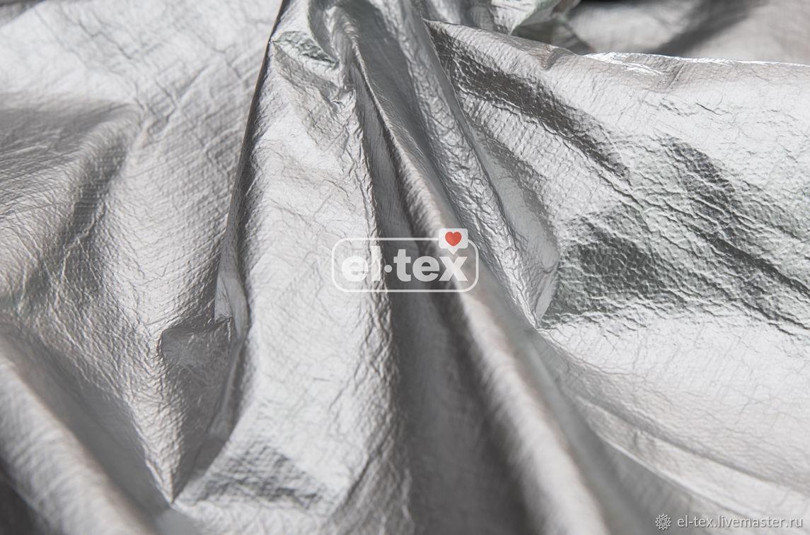 Raincoat fabric 'Silver' OE0110, Fabric, Moscow,  Фото №1