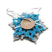 Сувениры и подарки handmade. Livemaster - original item Snowflakes set (3 pieces)