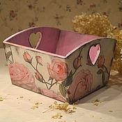 Для дома и интерьера ручной работы. Ярмарка Мастеров - ручная работа Шебби шик конфетница. Handmade.