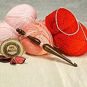 Материалы для творчества handmade. Livemaster - original item Crochet hook 7#100. Handmade.