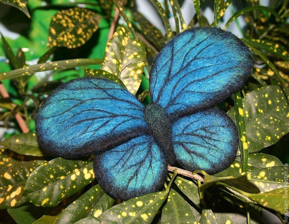 Бабочка (брошь), Брошь-булавка, Владивосток,  Фото №1