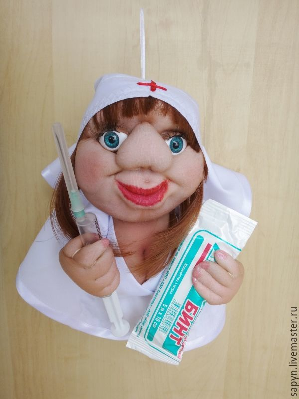 Кукла - попик. Медсестра, Игрушки, Москва, Фото №1