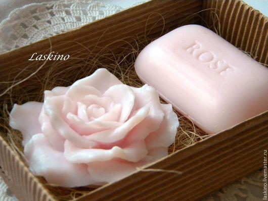 Подарочные наборы косметики ручной работы. Ярмарка Мастеров - ручная работа. Купить Подарочный набор мыла к 8 марта , сувенирное. Handmade.