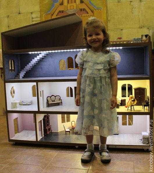 Кукольный дом ручной работы. Ярмарка Мастеров - ручная работа. Купить Дом для кукол. Handmade. Домик для кукол, дом для куклы