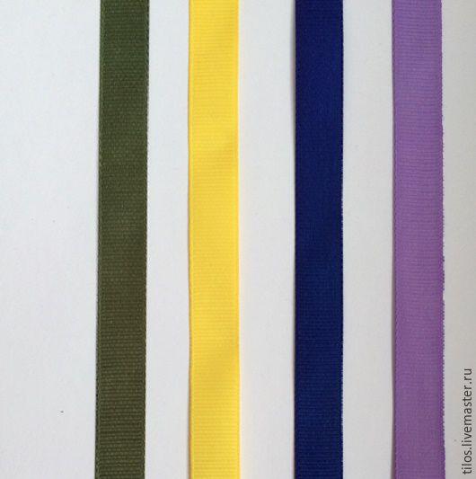 Шитье ручной работы. Ярмарка Мастеров - ручная работа. Купить репсовая лента 4 цвета. Handmade. Сиреневый, хаки, лента
