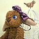 Мишки Тедди ручной работы. Овечка Мира. Мишки Teddyscharm Беленькой Елены. Ярмарка Мастеров. Овечка в подарок, хлопок