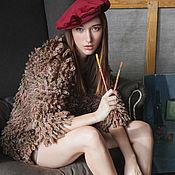 """Одежда ручной работы. Ярмарка Мастеров - ручная работа Кардиган """"Lush. Dark"""". Handmade."""