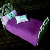 Куклы и игрушки ручной работы. Ярмарка Мастеров - ручная работа Кроватка для куклы (2). Handmade.