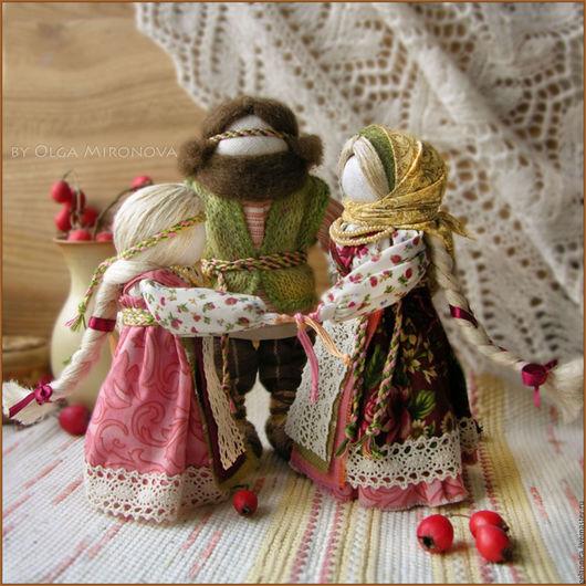 Народные куклы ручной работы. Ярмарка Мастеров - ручная работа. Купить Семья. Handmade. Семья, подарок для семьи, текстильная кукла