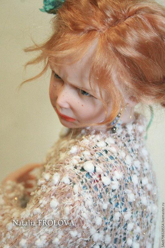 Коллекционные куклы ручной работы. Ярмарка Мастеров - ручная работа. Купить ...ФИФОЧКА.... Handmade. Комбинированный, эксклюзив, маслянные краски