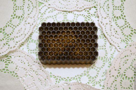 Скраб ручной работы. Ярмарка Мастеров - ручная работа. Купить Мыло Медовый скраб - с медом и маком. Handmade. Желтый