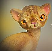 Для дома и интерьера handmade. Livemaster - original item Ruby, Burmese cat. Handmade.