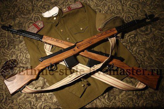 Оружие ручной работы. Ярмарка Мастеров - ручная работа. Купить Самозарядная винтовка Токарева (СВТ-40, макет-сувенир). Handmade.