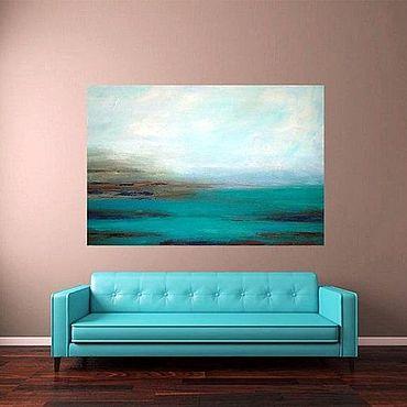 Картины и панно ручной работы. Ярмарка Мастеров - ручная работа Море. Handmade.