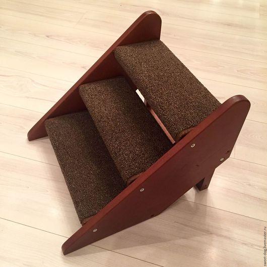 Аксессуары для собак, ручной работы. Ярмарка Мастеров - ручная работа. Купить Лесенки (ступеньки) для собак. Handmade. Коричневый, лесенка, ступени