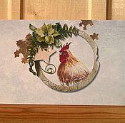 """Открытки ручной работы. Ярмарка Мастеров - ручная работа Конверт для денег """" Новогодний  """" (5 ). Handmade."""
