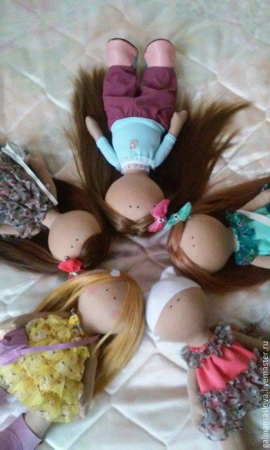 Куклы Тильды ручной работы. Ярмарка Мастеров - ручная работа. Купить Интерьерная кукла-малышка. Handmade. Кукла ручной работы