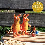 Куклы и игрушки ручной работы. Ярмарка Мастеров - ручная работа Мюклы, войлочные зверьки. Handmade.