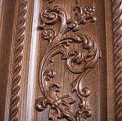 Для дома и интерьера ручной работы. Ярмарка Мастеров - ручная работа Дверной портал с элементами резьбы (002). Handmade.